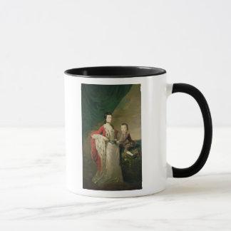 Mary, Countess of Shaftsbury and her Son Mug