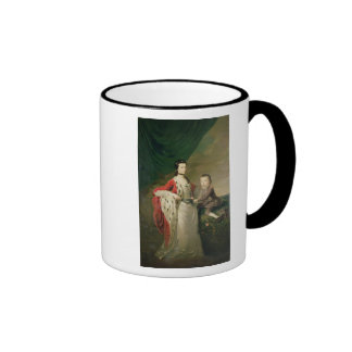 Mary, Countess of Shaftsbury and her Son Ringer Coffee Mug
