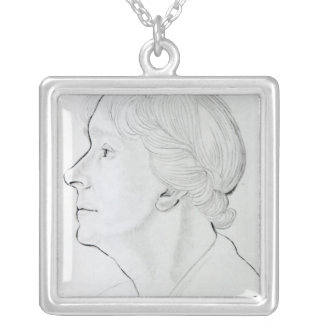 Mary Ethel Gill Silver Plated Necklace