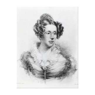 Mary Fairfax Greig Somerville Canvas Print