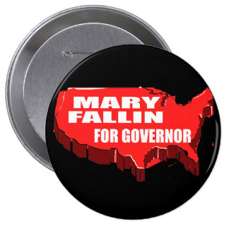 MARY FALLIN FOR GOVERNOR PIN