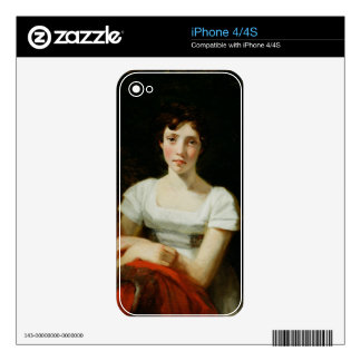 Mary Freer, 1809 (oil on canvas) iPhone 4S Decal