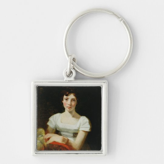 Mary Freer, 1809 (oil on canvas) Keychain