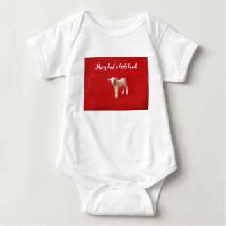 Mary had a little lamb BABY Baby Bodysuit