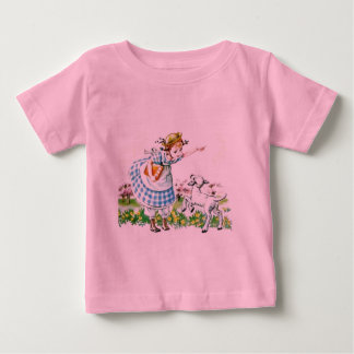 Mary Had a Little Lamb Baby T-Shirt