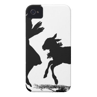 Mary Had a Little Lamb Easter iPhone 4 Case-Mate Cases