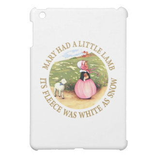 Mary Had a Little Lamb iPad Mini Cover