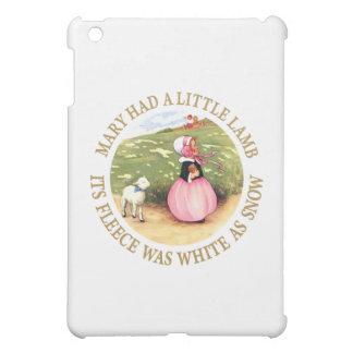 Mary Had a Little Lamb iPad Mini Cover