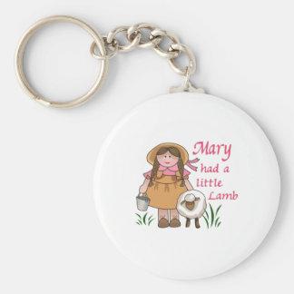 MARY HAD A LITTLE LAMB KEY CHAIN