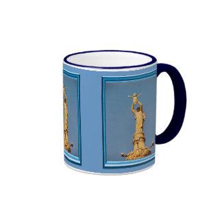 Mary holding the child Jesus Ringer Coffee Mug