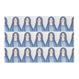Mary In Blue Placemat