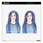 Mary in Blue Skin For Kindle Fire