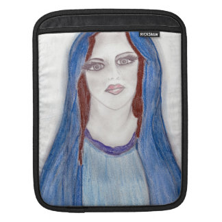 Mary In Blue Sleeve For iPads