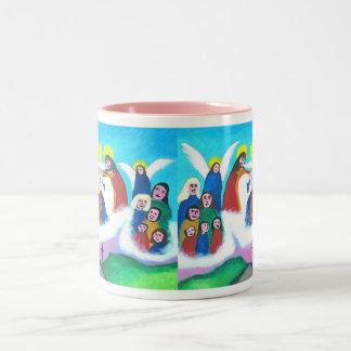 Mary In Heaven (bright) Coffee Mug