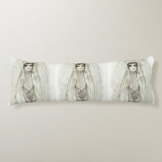 Mary in the Grotto Body Pillow