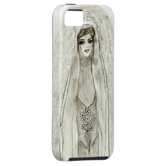 Mary in the Grotto iPhone SE/5/5s Case