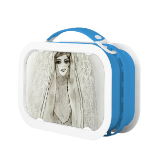 Mary in the Grotto Lunch Box