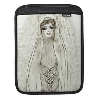 Mary in the Grotto Sleeve For iPads