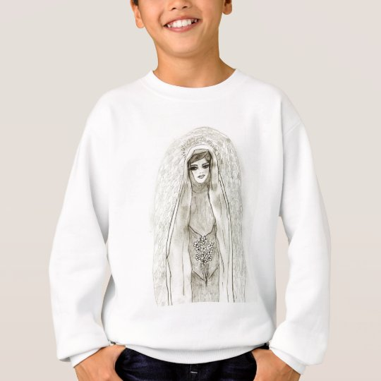 Mary In The Grotto Sweatshirt