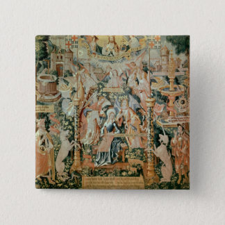 Mary in the Temple, Scenes from Life of the Button
