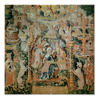 Mary in the Temple, Scenes from Life of the Poster