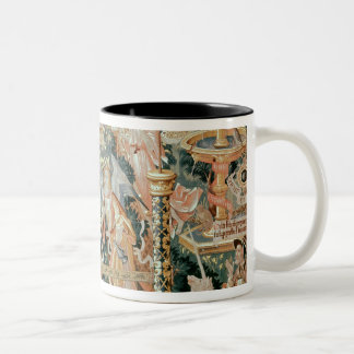 Mary in the Temple, Scenes from Life of the Two-Tone Coffee Mug