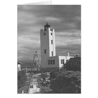 Mary Island Lighthouse Card