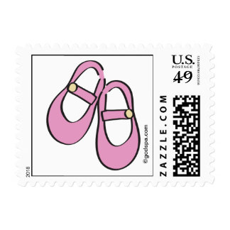 Mary Janes Baby Shower Postage