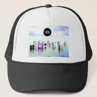MARY JANES WATER GARDEN TRUCKER HAT