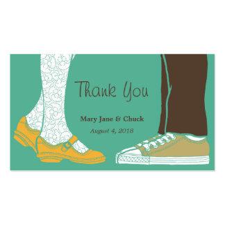 Mary Janes y zapatillas de deporte (menta) que cas Plantilla De Tarjeta De Visita