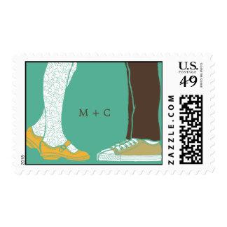 Mary Janes y zapatillas de deporte (turquesa) que Franqueo