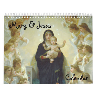 Mary & Jesus 2014 Calendar