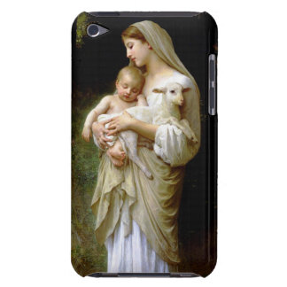 Mary, Jesus, and a Lamb Case-Mate iPod Touch Case
