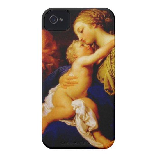 Mary, Jesus, & Joseph 2 iPhone 4 Cover