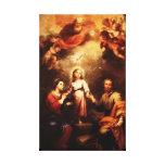 Mary, Jesus, & Joseph 2 Stretched Canvas Prints