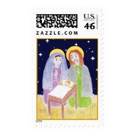Mary Joesph Jesus in Manger