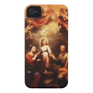 Mary, Jesus, & Joseph - The Trinity iPhone 4 Cover