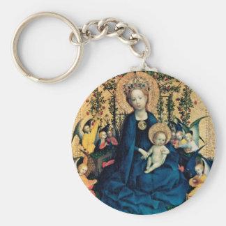 Mary & Jesus Keychain
