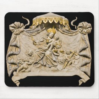 Mary Jesus Prague House Sign Mouse Pad
