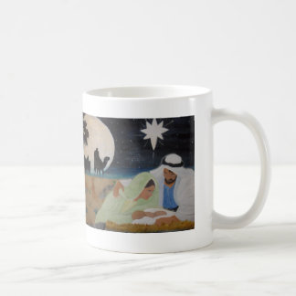 Mary, Joseph and Baby Jesus Mugs