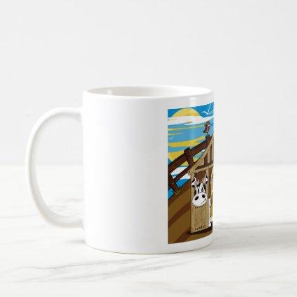 Mary & Joseph by Nativity Barn Mug mug