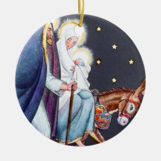 Mary & Joseph Ornament