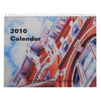Mary Kay Wilson 2010 Art Calendar calendar