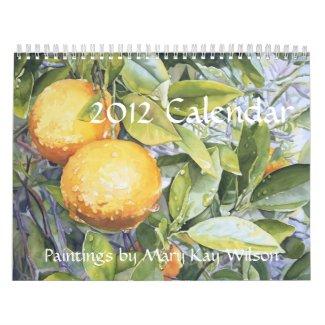 Mary Kay Wilson 2012 Art Calendar calendar