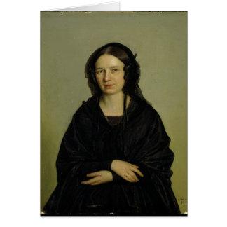 Mary Kramer , 1845 Card