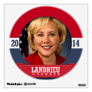 MARY LANDRIEU CAMPAIGN ROOM DECALS
