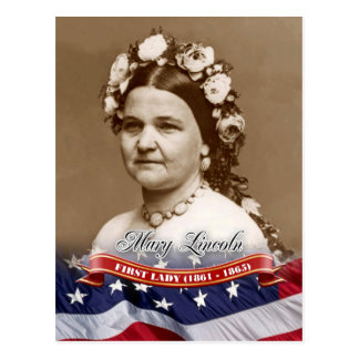 Mary Lincoln, First Lady of the U.S. Postcard