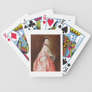 Mary Little, Later Lady Carr (oil on canvas) Bicycle Playing Cards