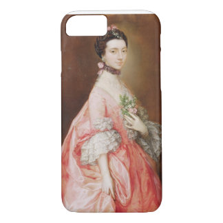 Mary Little, Later Lady Carr (oil on canvas) iPhone 8/7 Case