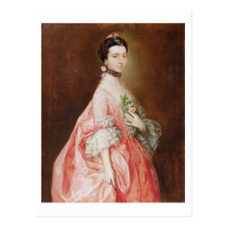 Mary Little, Later Lady Carr (oil on canvas) Postcard
